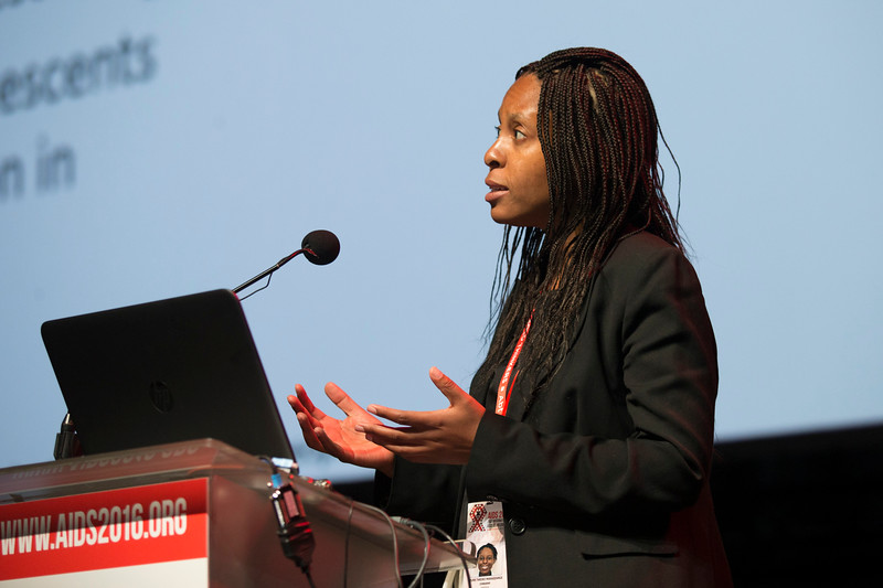 21st International AIDS Conference (AIDS 2016), Durban, South Africa. What is our goal? (WEPL0106) Youth Focus: Adolescents at Risk and in the Lead  Tariro Makadzange, 20 July, 2016. Photo©International AIDS Society/Rogan Ward