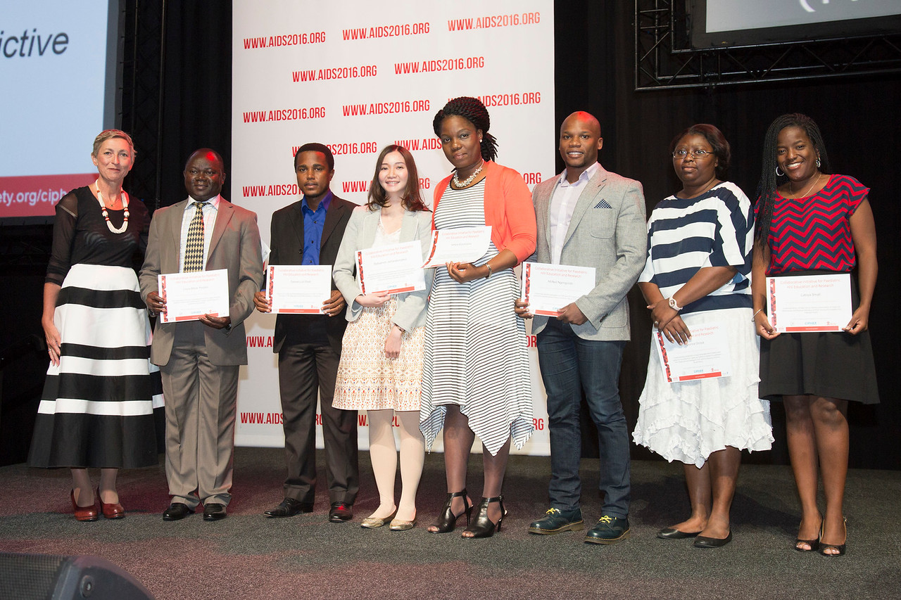 21st International AIDS Conference (AIDS 2016), Durban, South Africa. What is our goal? (WEPL0105) Award Presentation: CIPHER Grant Programme, 20 July, 2016. Photo©International AIDS Society/Rogan Ward