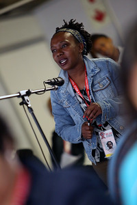21st International AIDS Conference (AIDS 2016), Durban, South Africa. Wednesday 20 July : Venue DURBAN ICC - Press Conference Room 2 (In Media Centre) Official Press Conference : Scaling up HIV Treatment in the Developing World Journalists asking Questions Photo©International AIDS Society/Abhi Indrarajan