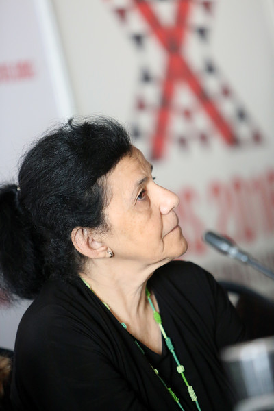21st International AIDS Conference (AIDS 2016), Durban, South Africa. Wednesday 20 July : Venue DURBAN ICC - Press Conference Room 2 (In Media Centre) Official Press Conference : Scaling up HIV Treatment in the Developing World Wafaa El-Sadr Photo©International AIDS Society/Abhi Indrarajan