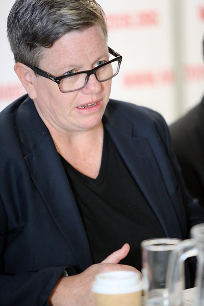 21st International AIDS Conference (AIDS 2016), Durban, South Africa. Wednesday 20 July : Venue DURBAN ICC - Press Conference Room 2 (In Media Centre) Official Press Conference : Scaling up HIV Treatment in the Developing World Sharonann Lynch Photo©International AIDS Society/Abhi Indrarajan