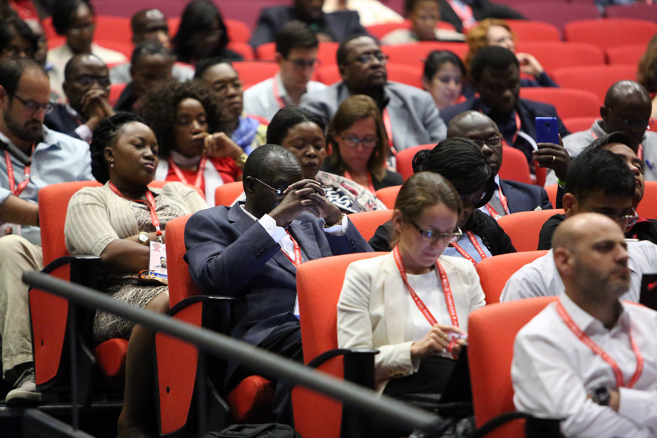 21st International AIDS Conference (AIDS 2016), Durban, South Africa. Opportunities for and Challenges to Sustainable Financing of the AIDS Response Symposia Session Wednesday 20 July : Venue -Session Room 11 Audience Photo©International AIDS Society/Abhi Indrarajan