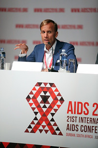 21st International AIDS Conference (AIDS 2016), Durban, South Africa. Opportunities for and Challenges to Sustainable Financing of the AIDS Response Symposia Session Wednesday 20 July : Venue -Session Room 11 CO-CHAIR: Mark Dybul, The Global Fund to Fight AIDS, Tuberculosis and Malaria, Switzerland  Photo©International AIDS Society/Abhi Indrarajan