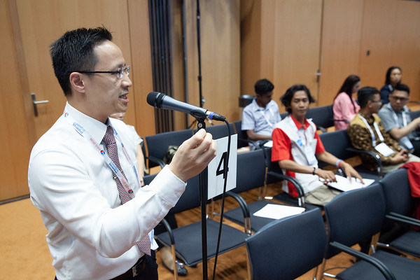 The Netherlands, Amsterdam, 25-7-2018.  Meeting of the Asia-Pacific regional department of IAS. Audience and questions. Photo: Rob Huibers for IAS.  (Please publish always with complete attribution).