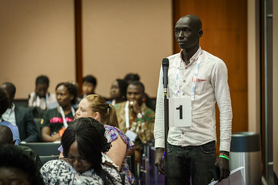 22nd International AIDS Conference (AIDS 2018) Amsterdam, Netherlands.   Copyright: Matthijs Immink/IAS Regional Members' Meeting for Africa Photo shows: pubic