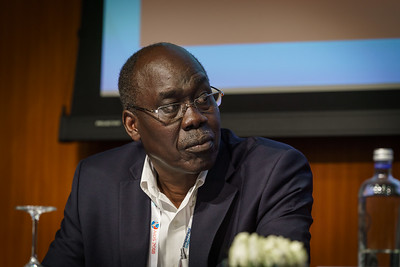 22nd International AIDS Conference (AIDS 2018) Amsterdam, Netherlands.   Copyright: Matthijs Immink/IAS Regional Members' Meeting for Africa Photo shows:  James Hakim