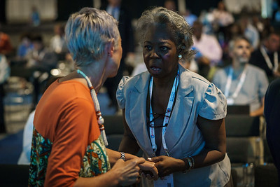 22nd International AIDS Conference (AIDS 2018) Amsterdam, Netherlands.   Copyright: Matthijs Immink/IAS Durable control of HIV infections in the absence of antiretroviral therapy: Opportunities and obstacles and Jonathan Mann Memorial Lecture: Data to drive equity Photo shows:  Linda-Gail Bekker
