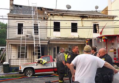 Minersville fire