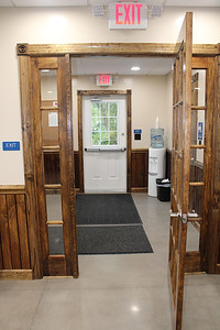 JOHN E. USALIS/STAFF PHOTOThe entrance/exit to and from the new Ringtown municipal building.