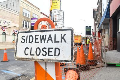Minersville Sidewalk Work