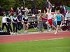 Joris vol overgave op de 100m.