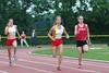 Linsie en Renkse op de 100m