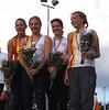 Nederlands Kampioen 4x400m 2005