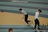 Daphne in de halve finale van de 60m