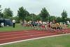 Start van de 1500m