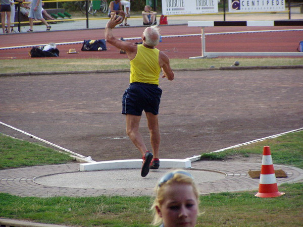 Ook Jan Oerlemans (Brons op WK masters !) was er.