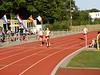 Femke wint de 100m nipt van Noortje.