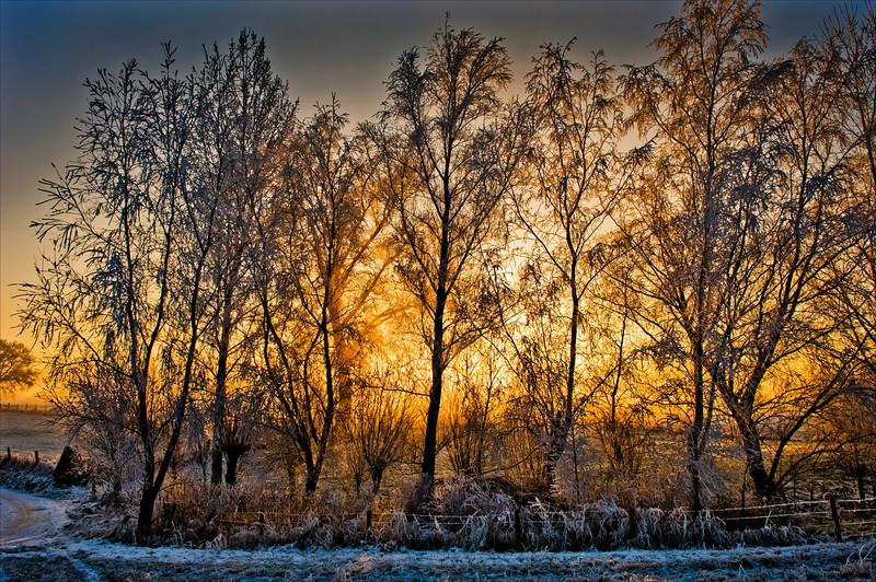 Landscape on fire - Eugeen Watté