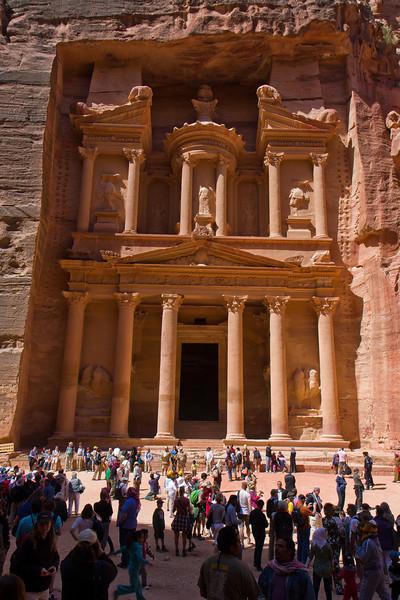 the treasury - petra jordanie, h.haustraete