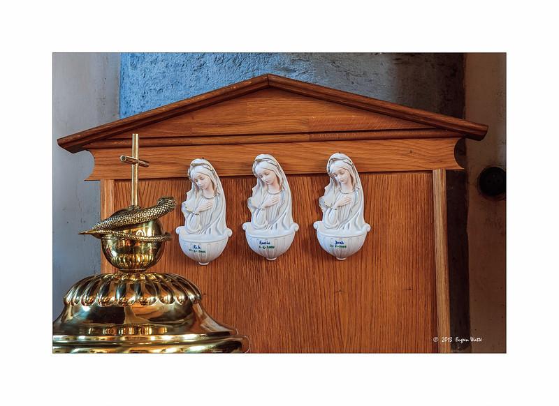 Watté Eugeen - In the church.