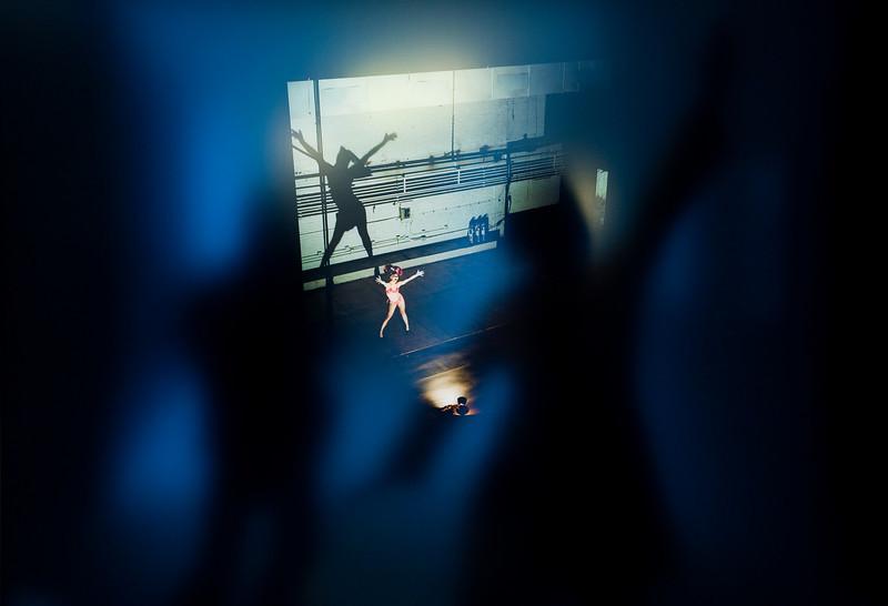 de mey peter - hommage aan Lisa Kereszi met Dancer on Stage