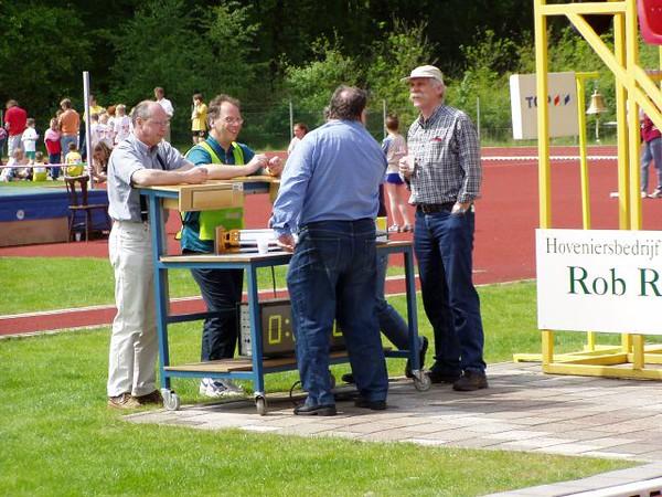 De jury van de sprintnummers