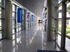 Wandering the hospital. . . .