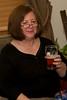 Grandma Sherry drinking one of Tom's beers