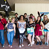 Student driven Anime Club, welcome new students and pass out information in the breezeway.