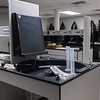 The Wet Darkroom facility featuring new equipment, located in the newly built Photography Building in the Hammerhead parking lot.