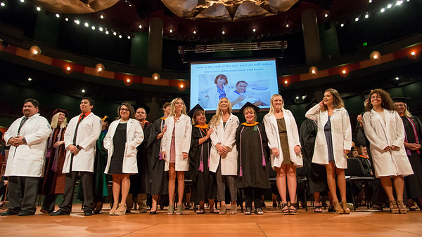 CONHS held their White Coat Ceremony in the Performing Art Center. To view additional photos from this event, click here: http://bit.ly/1iM8GrG