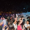 The campus activities board held it's annual Foam Party on the East Lawn during the Waves of Welcome event.