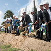 TAMU-CC held a ground breaking ceremony for the Center for Life Sciences Building.