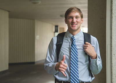 """Jonathan Simmons - """"Dress well, test well - it's worked for me since high school."""""""