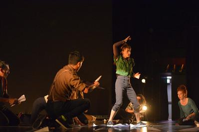 Danza Universitaria - Costa Rica performs Sabotaje I during the Bailando Dance Festival.