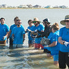 """Volunteers around the coastal bend gathered at Goose Island State Park to assist in the Oyster Reef Restoration """"Sink Your Shucks"""" event.<br /> <br /> More photos: <a href=""""https://flic.kr/s/aHskwg3qQ4"""">https://flic.kr/s/aHskwg3qQ4</a>"""