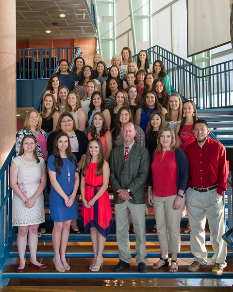 """College of Nursing and Health Sciences held their Sigma Theta Tau induction ceremony in the Performing Arts Center.<br /> <br /> More photos: <a href=""""https://flic.kr/s/aHskwCw769"""">https://flic.kr/s/aHskwCw769</a>"""