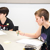 Highschool Students attend summer writing club hosted in the Occonor building to get students to develop their creative writing
