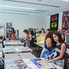 Students shopping at the poster sale. The poster sale will continue through the week up until Friday. For more info :  *link to poster sale flyer?*