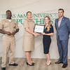 "Command Chief English (left) Commanding Officer Ehret, Jill Jacobs and Victor Navarette.<br /> <br /> View more photos:<br /> <a href=""https://islanduniversity.smugmug.com/Events/Events-By-Year/2016/092316-Patriotic-Employer-Awar"">https://islanduniversity.smugmug.com/Events/Events-By-Year/2016/092316-Patriotic-Employer-Awar</a>"