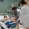 Nursing students take part in simulation labs where they are given the opportunity to practice life-like scenarios.