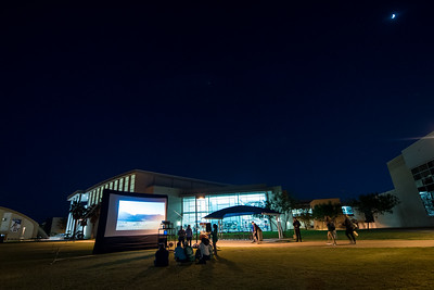 "The Student Volunteer Connection (Tamucc SVC) held a screening of ""'From the Ashes"" on the East Lawn as part of Sustainability Day."