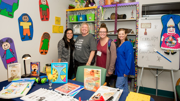 The College of Education and Human Development celebrated the grand opening of its Teacher Resource Room and Professional Library.