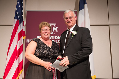 Dr. Donald Albrecht, Vice President of Student Engagement and Success at Texas A&M - Corpus Christi, was recognized with the 2017 Outstanding Alumni Award by the College of Education and Human Development (CEHD) at Texas A&M University.