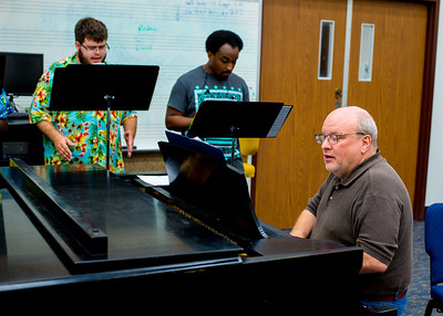 Dr. Ross Bernhardt plays the piano accompaniment as students practice for the Camerata Isla Chamber Choir.  Check out upcoming concerts: http://bit.ly/2wTePtE