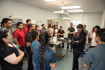 Students from Texas A&M University Corpus Christi begin the journey with the Texas State Aquarium on the IT Project Management