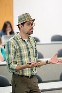 Professor Gabriel Ferreyra goes over topics in Criminal Justice.