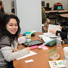 "Phuong Hoang (left) and Christine Choe utilize the @casatamucc workspaces to study for their classes.<br /> <br /> Check out CASA's services here: <a href=""http://casa.tamucc.edu/"">http://casa.tamucc.edu/</a>"