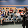 Dr. Gina Glanc lectures about the psychological reasons behind drug overdoses in her General Psychology class.