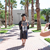 Taylor Brown poses for graduation photos as she prepares to finish her last semester as an Undergraduate at Texas A&M University Corpus Christi